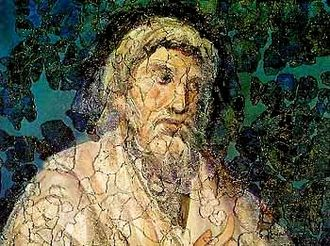 Lactantius - Mural likely depicting Lactantius.