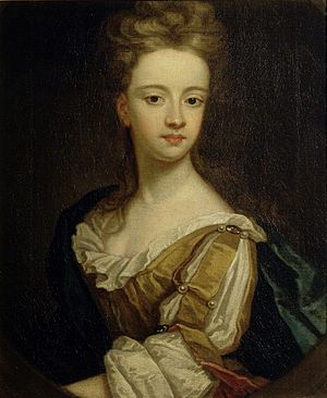 Hampton Court Beauties - Hampton Court Beauty: Lady Mary Bentinck, c. 1700. Studio of Sir Godfrey Kneller