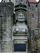 Lady of Carcas - Carcassonne 2014.jpg