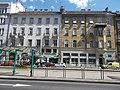 Lakóházak és bank. - Budapest, Középső-Ferencváros, Ferenc körút, 17 és 15.JPG