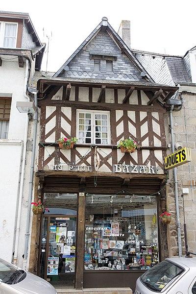 Maison à pans de bois - 33 rue du docteur Calmette - Lamballe (Côtes d'Armor)