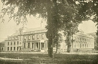 Lamport Hall - Lamport Hall in 1898 when it was owned by Sir Charles Isham.