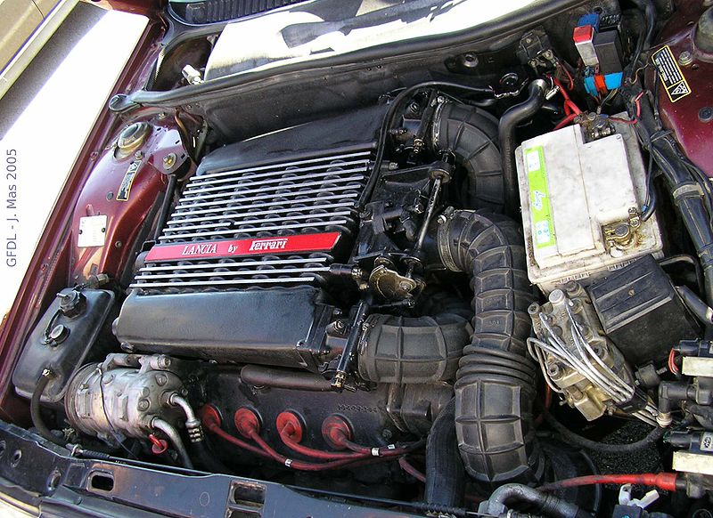 Limited edition with a Ferrai 308 V8 wedged in it!
