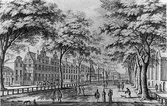 Lange Voorhout - The Lange Voorhout in 1689.