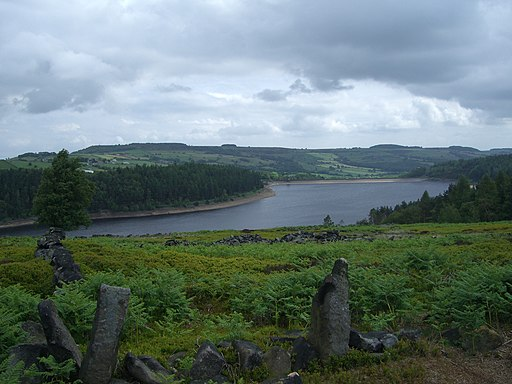 Langsett Reservoir from Hingcliff Common