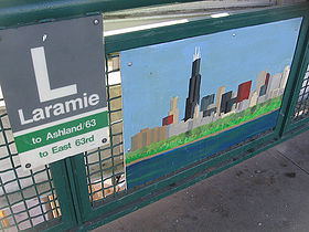 Image illustrative de l'article Laramie (Ligne verte CTA)