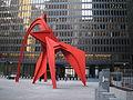 Lascar Flamingo sculpture (4608071498).jpg