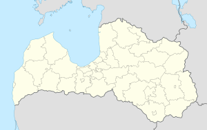 Rēzekne is located in Latvia
