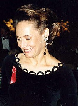 Laurie in 1992.