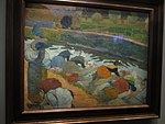 Lavandières au bord du canal Gauguin 1888.jpg
