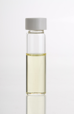 Bottle of lavender oil