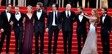 L'intero cast alla presentazione del film a Cannes