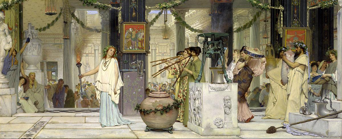Villa Publica Ancient Rome Art Dealing