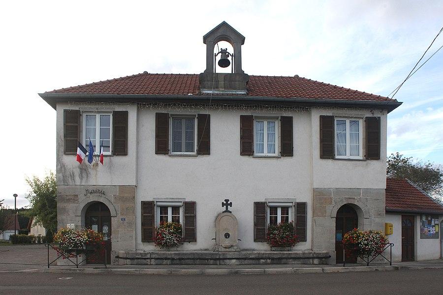 Mairie du Gratteris (Doubs).