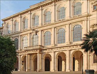 Galleria Nazionale d'Arte Antica - Image: Le Palais Barberini (Rome) (5970353582)