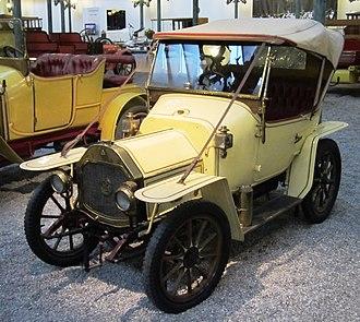 Le Zèbre - Image: Le Zebre Torpédo Type A 1913 633cc