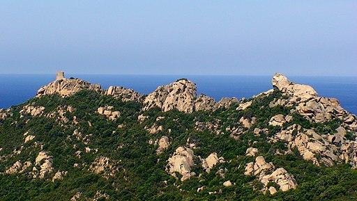 Le rocher de de Roccapina