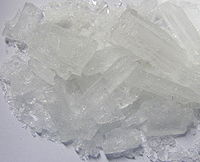 Toxic lead sugar or lead(II) acetate