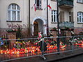 Lech Kaczyński ex-house in Sopot after president's plane crash 2010 - 10.jpg