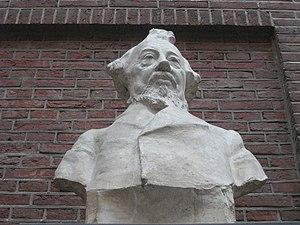 Johan Hendrik Caspar Kern - Bust Hendrik Kern by Charles van Wijk