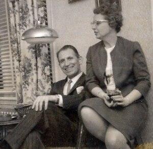 Leonard Falcone - Leonard and Beryl Falcone around 1960.