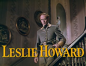 Leslie Howard es Ashley Wilkes