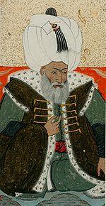Levni.  Retrato de Bayezid II.  1703-30 Topkapi Saray museum.jpg