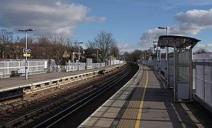 Lewisham station - Image: Lewisham station MMB 08