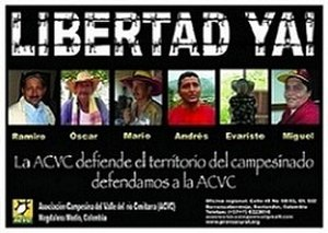 Human rights in Colombia - Image: Libertad ya