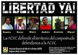 Human rights in Colombia - Image: Libertad ya