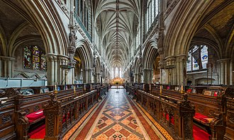 Lichfield Cathedral - The cathedral choir