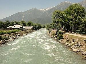 Pahalgam - Lidder River in Pahalgam