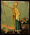 Life and death. Oil painting. Wellcome V0017612.jpg