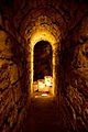 Light at the end of the Western Wall Tunnel.jpg