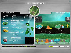 Gameplay of the light reaction game.