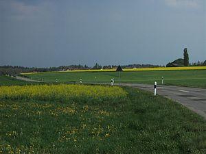 Lignières, Switzerland - Fields outside Lignières