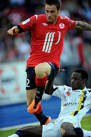 Mathieu Debuchy - Debuchy playing for Lille in 2011.