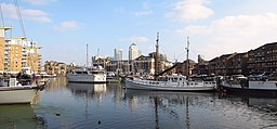 Limehouse Basin , East London , October 2015 - panoramio