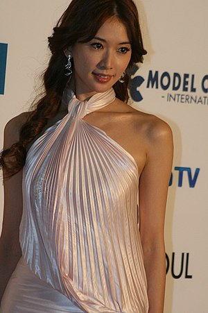 Lin Chi-ling - 2009 Asia Model Festival Awards, South Korea