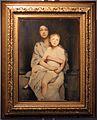 Lino selvatico, ritratto di signora con bambino, 1923.jpg