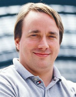 Linux - Linus Torvalds, principal author of the Linux kernel