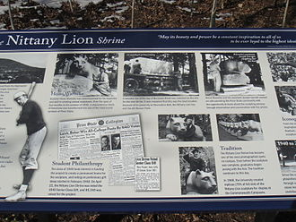 Nittany Lion Shrine - Image: Lion Shrine s