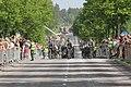 Lippujuhlan päivän paraati 2014 107 Perinneosasto Jääkärijoukkue polkupyörillä.JPG