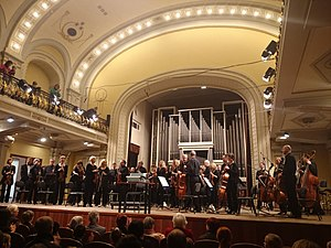 Lithuanian National Philharmonic Society - Interior during performance
