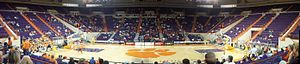 Littlejohn Coliseum - Littlejohn Coliseum from the inside