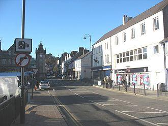 Llangefni - Town centre