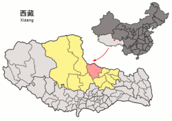 Location of Amdo County within Xizang (China).png