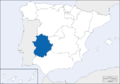 Location of Extremadura.png