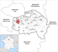 Locator map of Kanton Villejuif.png