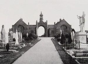 King's Norton and Northfield Urban District - Image: Lodge Hill District Cemetery